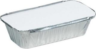 Uni-Foil Rectangle Small Takeaway with Lid - Uni-Chef