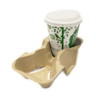 Carry Tray - 2 cup - Ecoware