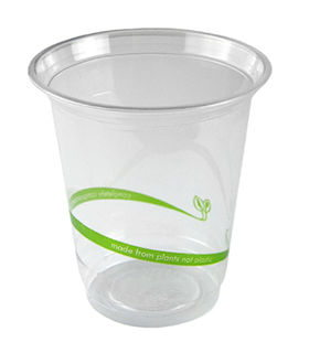 Slim PLA Cold Cup 7oz (220 ml) - Vegware