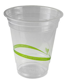 Cold Cup 12oz (390ml) standard PLA - Vegware