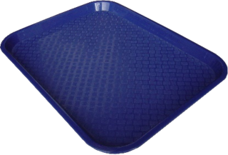 Fast Food Trays Small - Blue