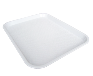 Fast Food Trays Small - White