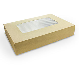 Platter box (large) with insert 45x31x8.2cm - Vegware