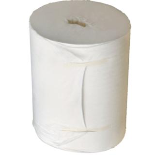 White Centre Feed Towel 180m - PUREvalue