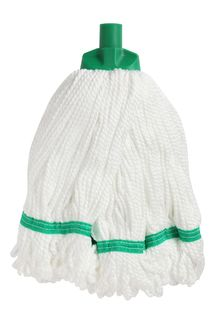 Edco Microfibre Round Mop - GREEN (6 Only) - Edco