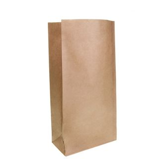Brown Block Bottom Paper Bag No 2 Heavy Duty - UniPak