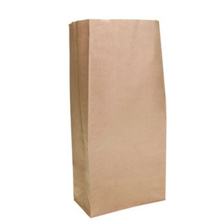 Brown Block Bottom Paper Bag No 3 Heavy Duty - UniPak