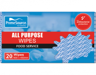 PrimeSource' All Purpose Wipes, Blue - Castaway