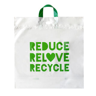 Retail/Checkout Bag Recyclable Large - Ecobags - Pack or Carton