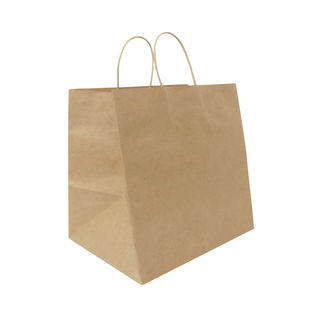 Twisted Handle Paper Bags Extra Wide (280+220)x275 - Ecobags