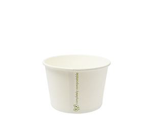 Soup/IceCream Container PLA 16oz/560ml - Vegware