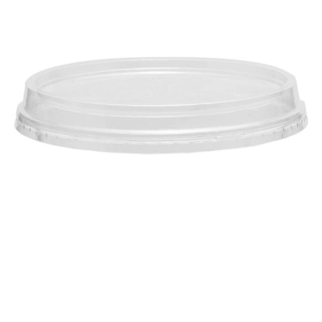 60ml Sauce Container Flat Lid No Hole