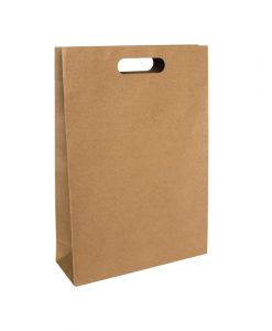Punched Handle Paper Bags Medium - EcoBags