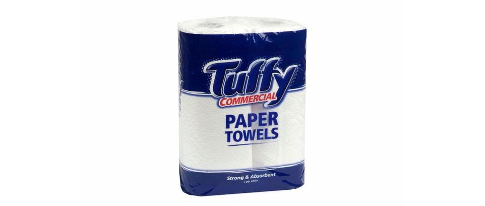 Commercial Kitchen Towel 2ply twin pack - TUFFY