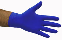 Latex Gloves - Powder Free Economy BLUE - Selfgard