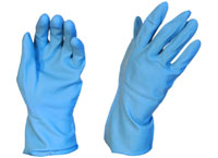 Rubber Gloves Silverline Blue 2XL - Pomona