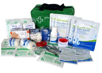 Large Industrial Burn's First Aid Kit SOFT PACK