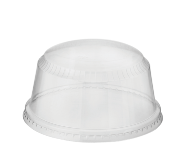 Tall Dome Sundae Cup Lids (suit CA-SUN5 and CA-SUN8) - Castaway