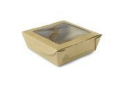 Box window medium 650ml 12 x 12 x 4.5cm - Vegware