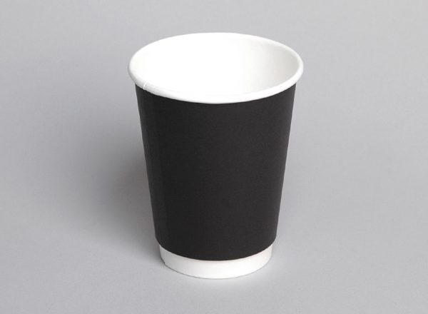Hot Cup Double Wall PE 12 oz - Coastal